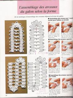 La Dentelle De Bruge - Brindusa S - Picasa Albums Web Crochet Borders, Crochet Diagram, Crochet Stitches Patterns, Thread Crochet, Filet Crochet, Irish Crochet, Crochet Motif, Crochet Shawl, Crochet Doilies
