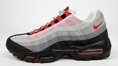 Image result for Nike air max 95 Cincinnati Reds colors