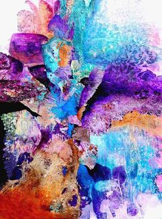 Sharon Blair Art and Design: Fitzroy Falls   www.sharonblair.com.au     - Art For Inspired Interiors           -  Mixed Media Artwork: Abstract