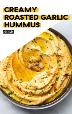 Don't Look Back After Making Hummus From ScratchDelish