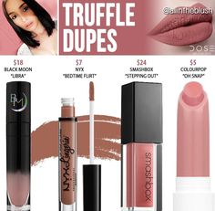 Dose of colors dupes in the shade Truffle // Kayy Dubb ♡