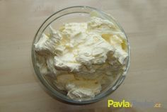 Máslový krém Pavlova, Food Hacks, Nutella, Icing, Oatmeal, Pudding, Breakfast, Cakes, The Oatmeal