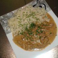 Fotografie receptu: Dušené vepřové na pórku Risotto, Grains, Ethnic Recipes, Seeds, Korn