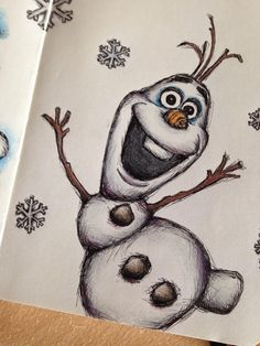 Image result for olaf sketch