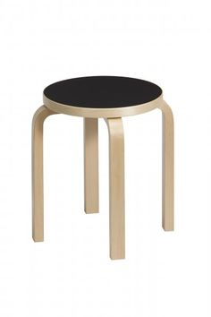 This classic stool can be found in several colours at thousands of Finnish homes. Designed by #Alvar Aalto 1933.