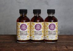 Mexican Vanilla Extract - 2 oz. (56 mL)  Infuse the essence of pure vanilla into your favorite desserts and drinks. One tablespoon of extract = one vanilla bean. Ingredients: Mexican vanilla beans, organic vodka. NO ARTIFICIAL PRESERVATIVES.  Each bottle of vanilla extract has been infusing for over six months and contains a vanilla bean inside to continue the process. Gluten-free.  Lolas Cocina specializes in gourmet goods with Mexican flavor. All products are handcrafted in small batches…