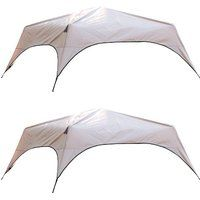 Cheap price Coleman RainFly Covers for 6-Person Camping Instant Tent (Pair) sale