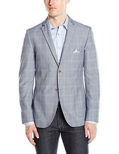 bbdb244c029 Paisley  amp  Gray Men s Single Breasted Slim-Fit Notch Lapel Suit Separate  Jacket