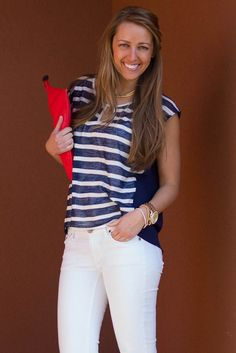 Love this nautical look! top is $32