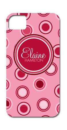 Thirty Seven West - Hard Case Phone Cover - Breast Cancer Pink Polka Dots and Circles, $41.99 (http://www.thirtysevenwest.com/hard-case-phone-cover-breast-cancer-pink-polka-dots-and-circles/)