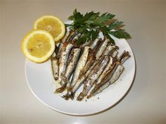 Anchovies in the Oven|Greek Food