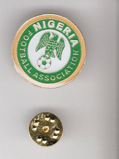 NIGERIA Team Logo 2014 FIFA WORLD CUP Soccer Football METAL LAPEL PIN  | eBay