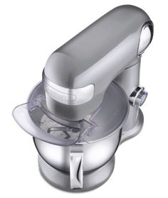 Shop Cuisinart Precision Master Tilt-Head Stand Mixer Brushed Chrome at Best Buy. Find low everyday prices and buy online for delivery or in-store pick-up. Stand Mixer Reviews, Best Stand Mixer, Kitchen Stand Mixers, Kitchen Aid Mixer, Dessert Makers, Stainless Steel Bowl, Head Stand, Ice Cream Maker, Metal Casting