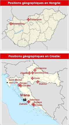 Commanderies templières en Hongrie et Croatie