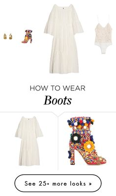 """Saturday"" by amberelb on Polyvore featuring Lisa Marie Fernandez and Dolce&Gabbana"
