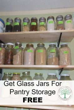 Are you wondering where to get jars and buckets for your pantry for your food storage FREE?  Let me show you where! via @homesteadhippy