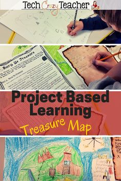This Project Based Learning idea was a hit with my elementary students! They loved diving into map skills and landforms and, of course, burying their own treasure! This is a great way to introduce PBL activities in an engaging way. This PBL resource inclu 3rd Grade Social Studies, Social Studies Classroom, Social Studies Activities, Teaching Social Studies, Classroom Activities, Learning Activities, Teaching Tools, Robot Classroom, Teaching Ideas