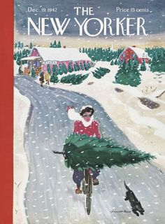 The New Yorker - Saturday, December 19, 1942 - Issue # 931 - Vol. 18 - N° 44 - Cover by : Garrett Price