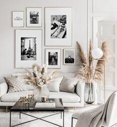 Inspiration Wall, Living Room Inspiration, Interior Inspiration, Room Wall Decor, Bedroom Decor, Decor For Walls, Decorating White Walls, Peacock Room Decor, Art Walls