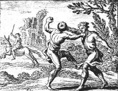 les voleurs et l'âne, François Chauveau