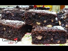 Reteta de Prajitura cu Ciocolata fara Faina si Zahar - YouTube Romanian Desserts, Sugar Free Desserts, Raw Vegan, Healthy, Recipes, Food, Sugar Free Deserts, No Sugar Desserts, Recipies