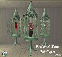 SIMS2: Reclaimed Farm Bird Cages - Downloads - BPS Community