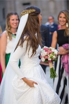 Generous Long Sleeves A-line/Princess Ivory Cowl Court Train Wedding Dresses - Satin Wedding Dresses - Wedding Dresses Wedding Dress Train, Fit And Flare Wedding Dress, Country Wedding Dresses, Princess Wedding Dresses, Wedding Dresses Plus Size, Colored Wedding Dresses, Modest Wedding Dresses, Bridal Dresses, Wedding Gowns
