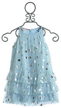 Biscotti Blue Girls Dress Follow Your Heart $69.00