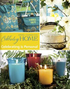 2014 Spring And Summer Celebrating Home Catalog On