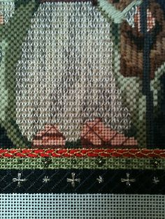 steph's stitching: Kelly Clark's Nativity Characters with Amy Bunger stitch guides