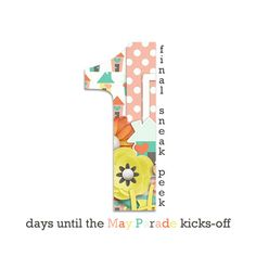 Just 1 day until the May 2017 Parade kicks-off on 5/1... HERE'S YOUR FINAL SNEAK PEEK ♥