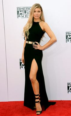 Fergie looks absolutely Fergalicious at the American Music Awards 2014!