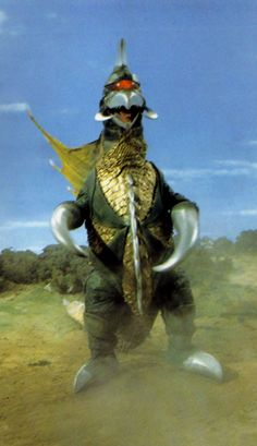 Gigan guest-stars on Zone Fighter