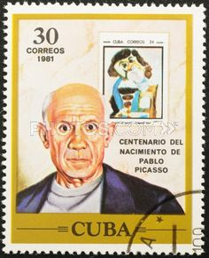 Google Image Result for Picasso on Postage stamps