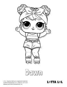 Bon Bon Coloring Page Lotta LOL Unicorn coloring pages
