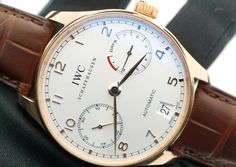 IWC Portuguese Automatic 7 Day Power Reserve Rose Gold