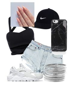 """Untitled #85"" by eastcoastley on Polyvore featuring NIKE and Avenue"