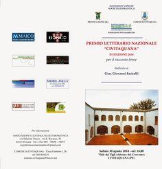 Edizioni Tracce: Premio Letterario Nazionale Civitaquana 2014: la c...