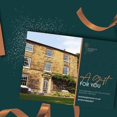"""Marketing Agency on Instagram: """"The perfect gift 🎁 We were pleased to design & print gift vouchers for boutique B&B, Holmleigh Manor, to help them capture the Christmas…"""" Gift Vouchers, B & B, Hollywood, Marketing, Boutique, Christmas, Gifts, Instagram, Design"""