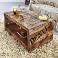 Diy on pinterest recycling coffee tables and products - Recycling couchtisch ...