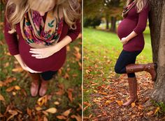 Maternity Photo Session at Wright Park