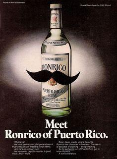 Vintage Rum advert!