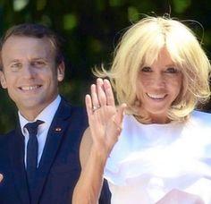 Le couple présidentiel à Athènes ☺️ #PrésidentMacron #BrigitteMacron