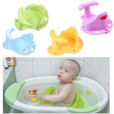 Baby Bath Tub Ring Seat Infant Child Toddler Kids Anti Slip Safety Chair NV