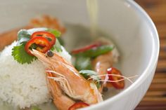 Sizzling Rice Soup - In this Chinese specialty the rice crackles and pops when it meets the hot soup