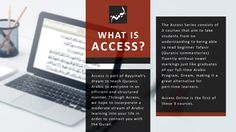 Get a certificate in Access 1 Quranic Arabic! Learn about root words, grammar, and sentence structure and see firsthand why the Quran is Divine and miraculous. Thousands of students have gone through this interactive, live online, part time course from more than 50 countries!