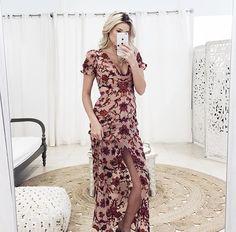 @sundressboutique Saffron Maxi Dress