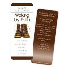 Walking by Faith Jumbo Bookmark
