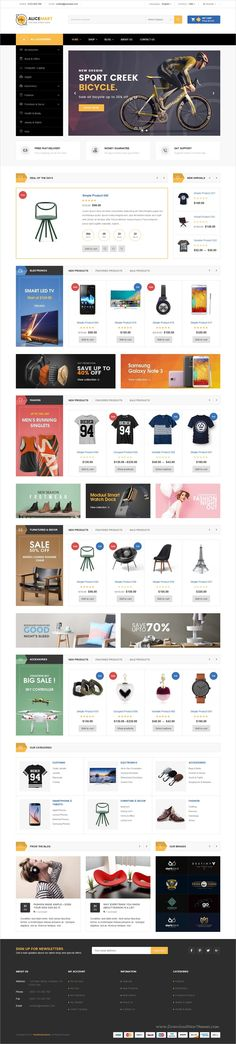 VG Alice is clean and modern design 4in1 responsive #WooCommerce #WordPress theme for stunning #eCommerce website download now➩ https://themeforest.net/item/vg-alice-multipurpose-responsive-ecommerce-theme/19692045?ref=Datasata