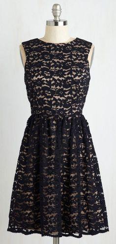 Black&Ivory lace dress...Perfect Dance Partner Dress